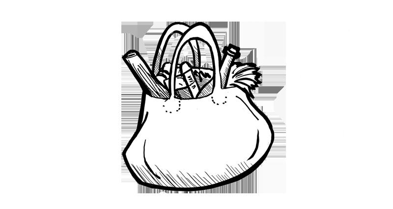 Illustration Einkaufstasche