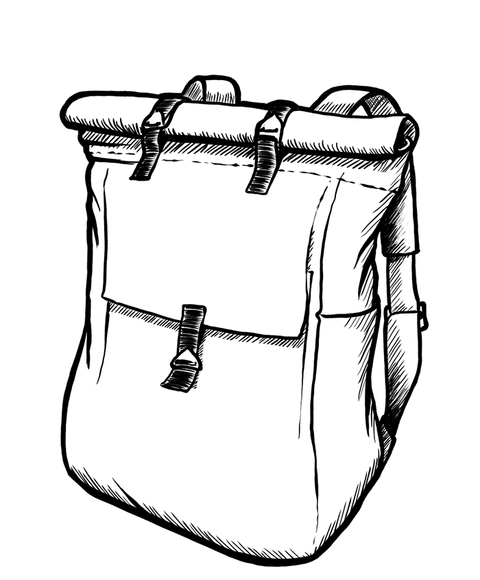 Illustration Rucksack