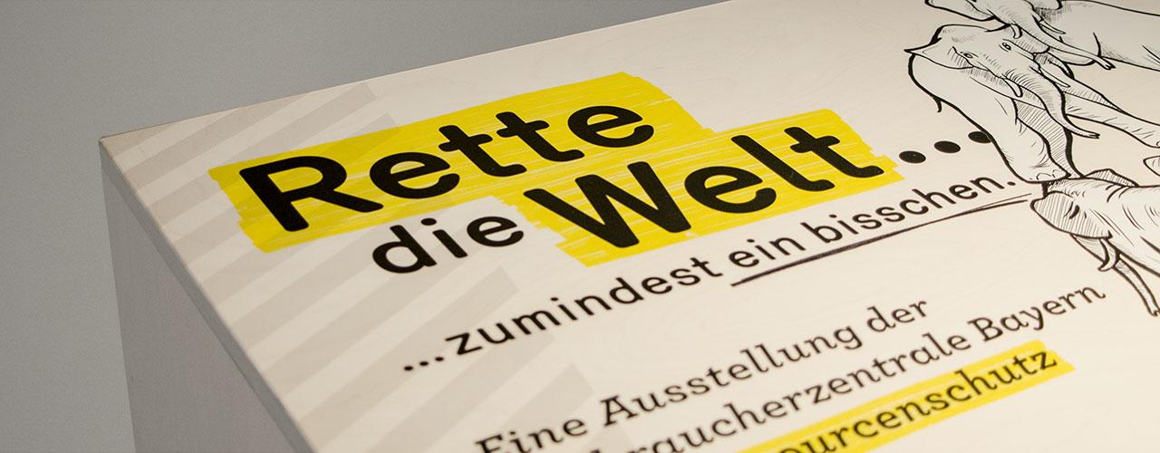 Corporate Design Schriftzug