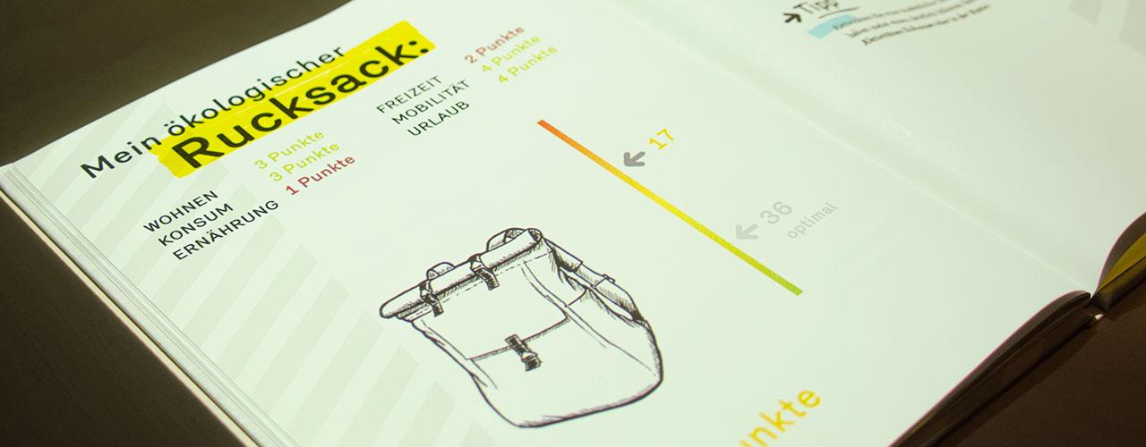 Das Lebende Buch® Mein ökologischer Rucksack