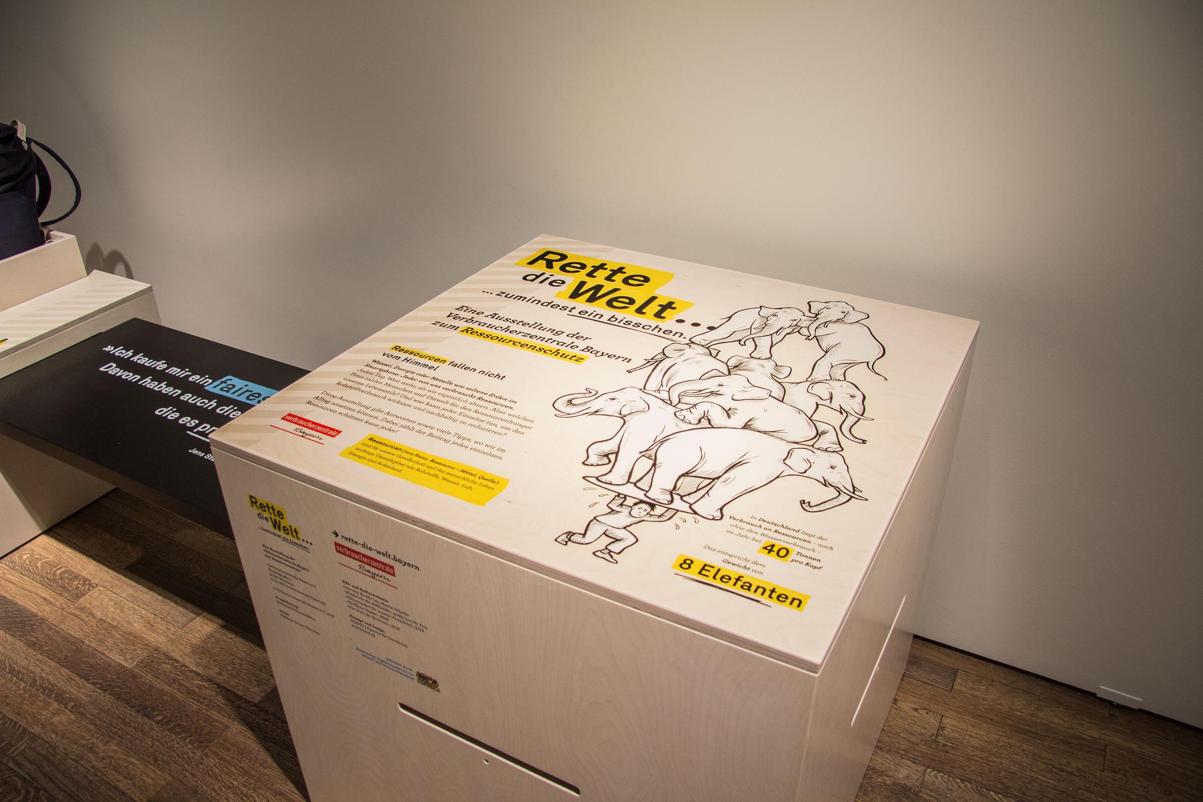 Gesamtansicht der »Einführungs«-Kiste