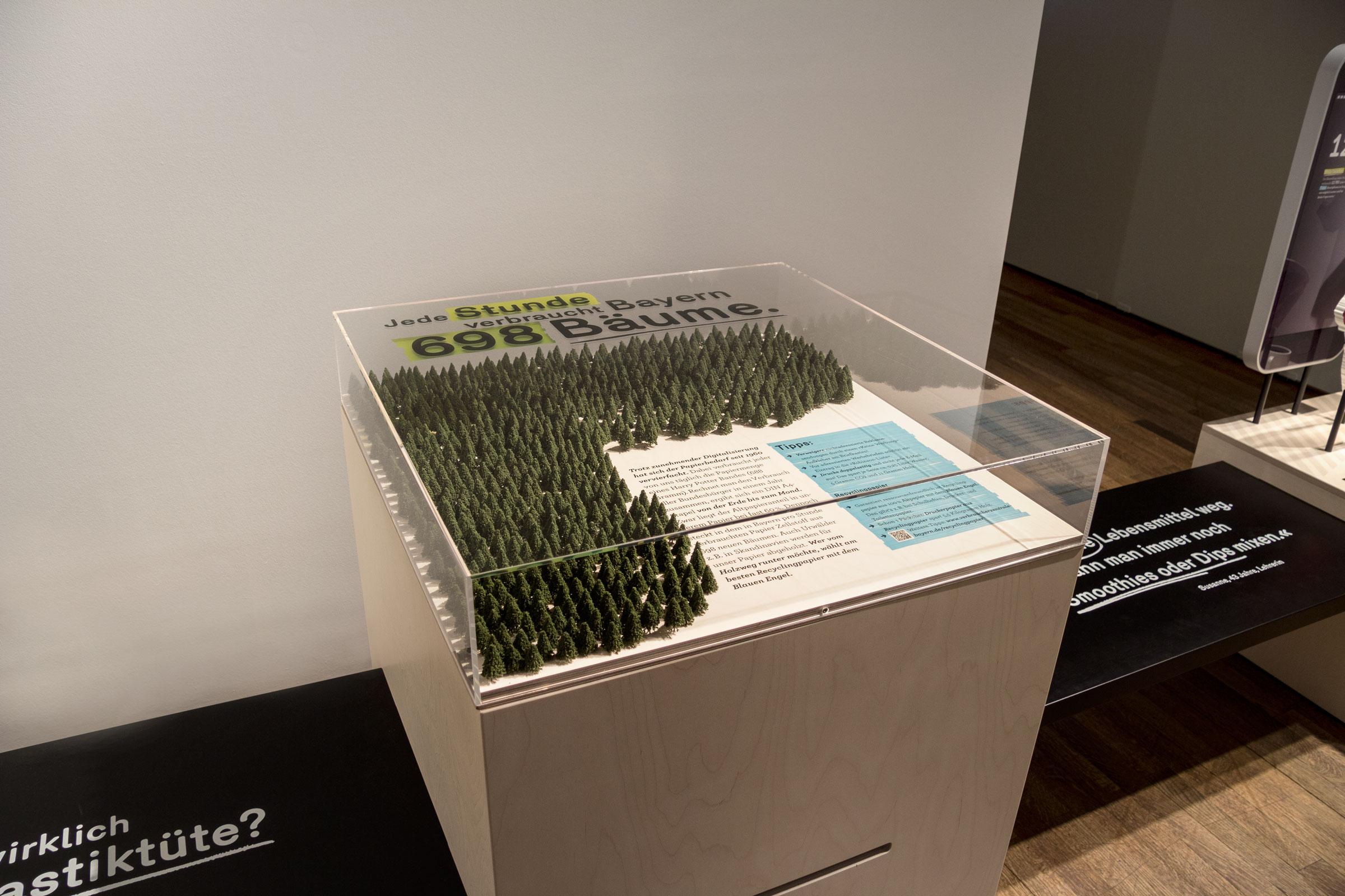 Gesamtaufnahme der Kiste »Papierverbrauch«