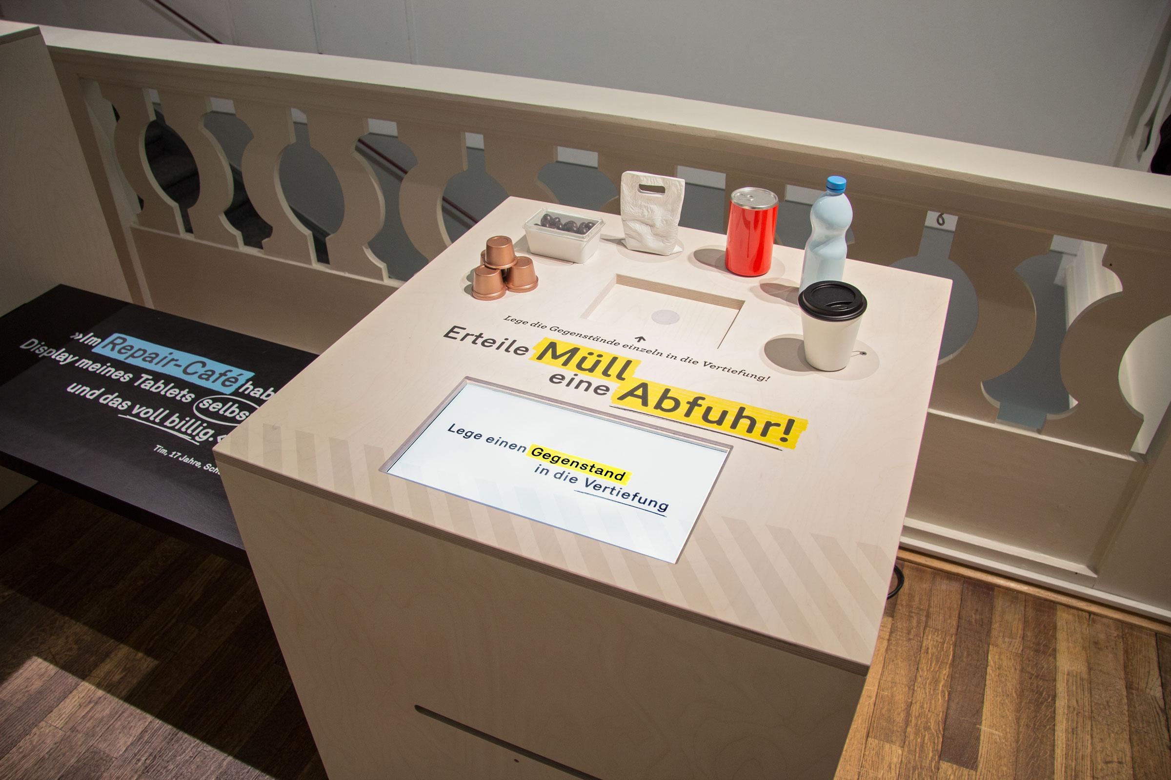 Großaufnahme der Kiste »Verpackungen«